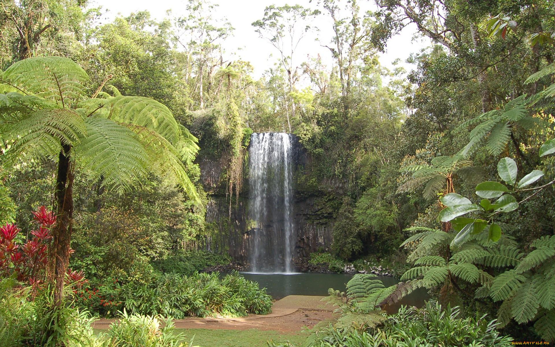 Природа водопады обои для рабочего